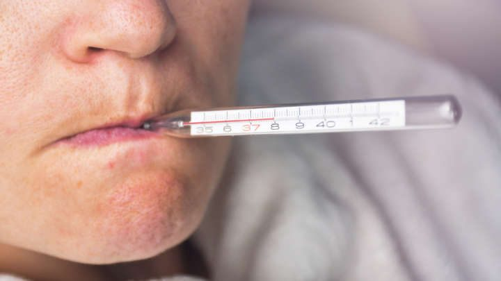 Average human body temperature is lower now