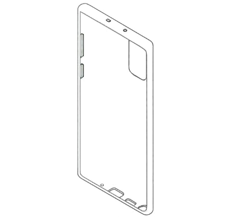 Patent reveals design features of Samsung Galaxy Note 20