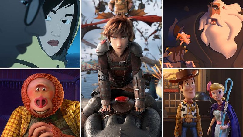 The nominees for best animated feature film for Oscars 2020