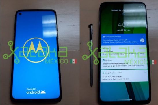 The leaked images of new Moto phone show a stylus, it might be called Moto G Stylus