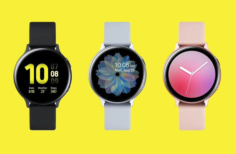 The new Samsung Galaxy Watch Active2 update is for WhatsApp users