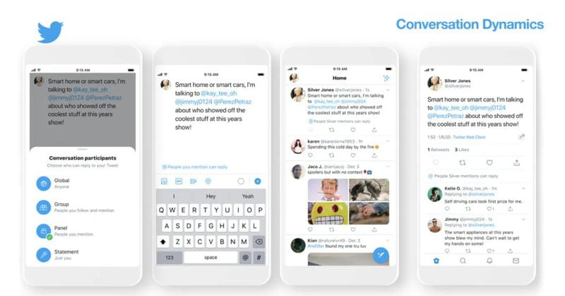 Twitter Conversation Dynamics will allow you to limit who can reply to your tweets CES 2020