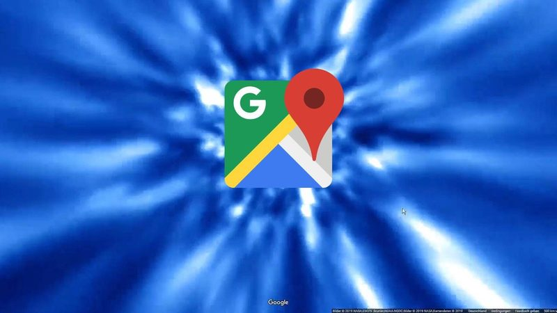 Google Maps gets a hyperspace animation
