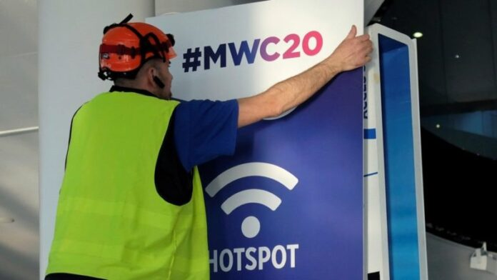 The Mobile World Congress is cancelled because of the coronavirus crisis