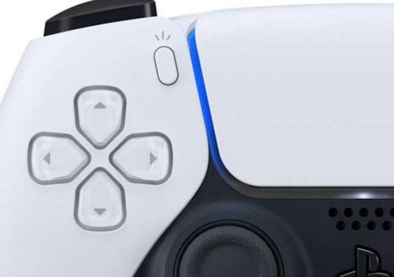 PlayStation 5 Dual Sense controller - Share and Create button