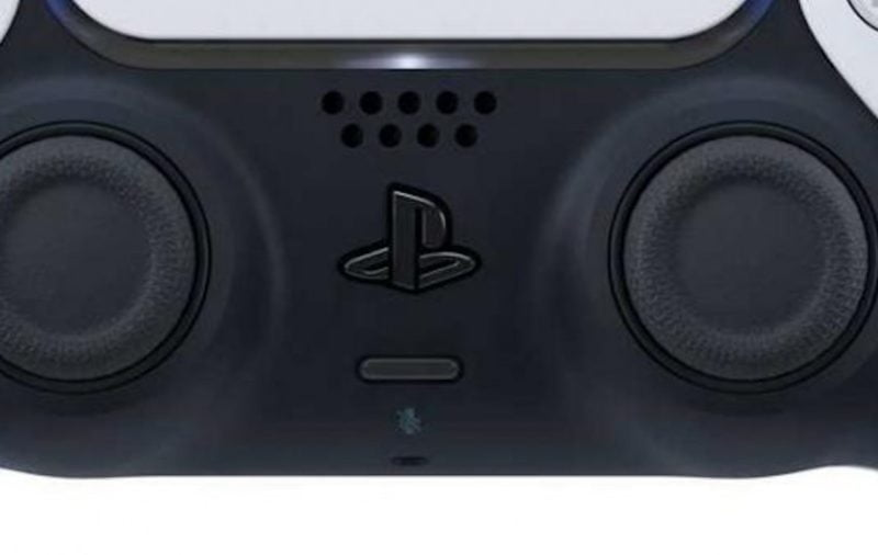 PlayStation 5 Dual Sense controller - ports microphone and speaker