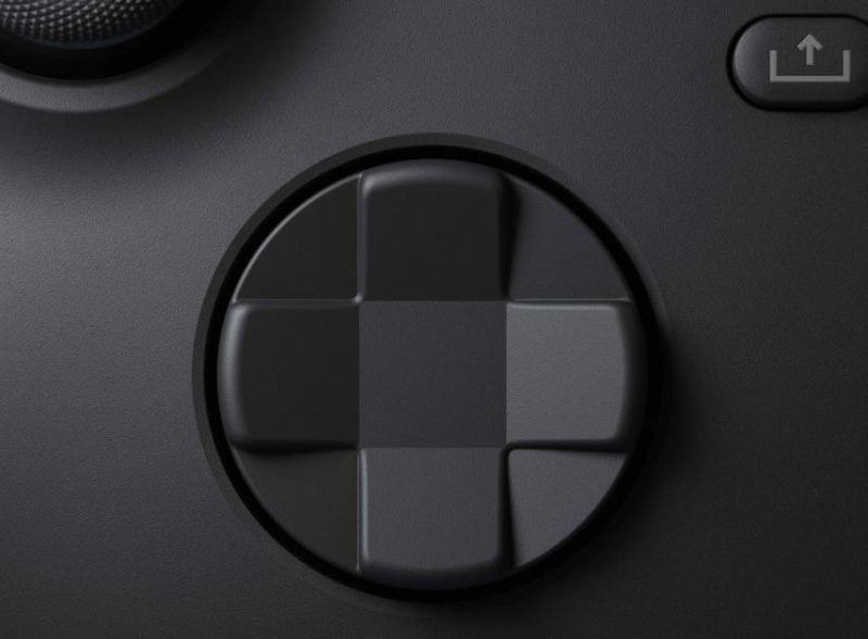 Xbox Series X controller - Control and D-pad buttons