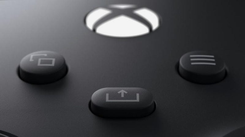 Xbox Series X controller - Extra buttons Share and Create