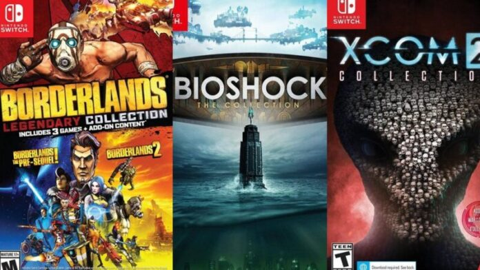 Bioshock, Borderlands and XCOM 2 2K hits coming to Nintendo Switch in collection format
