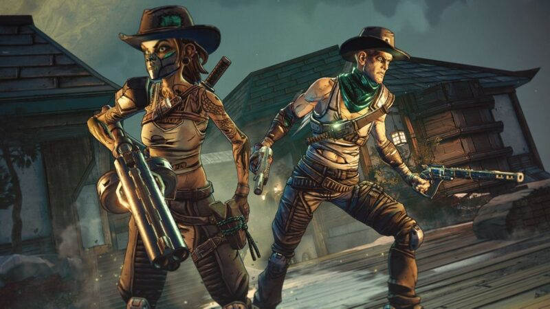 Borderlands 3 presents its third downloadable expansion bounty of blood a fistful of revenge