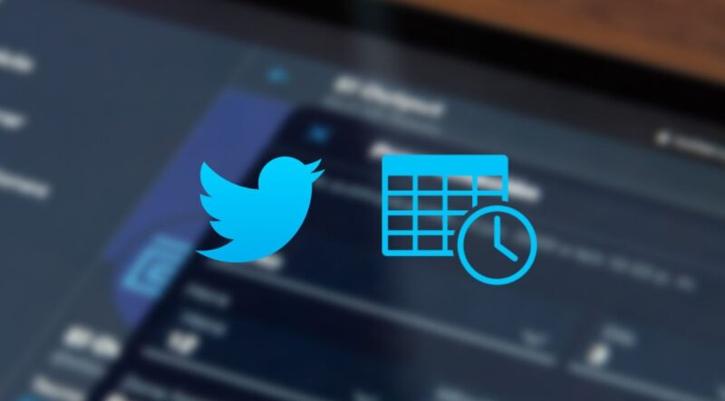 How to schedule tweets without installing anything on Twitter