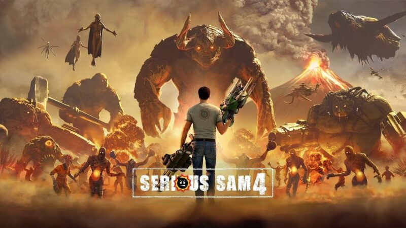 Serious Sam 4 will bring its brutal and chaotic shootings to PC and Stadia in August