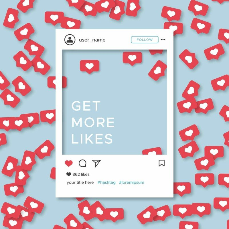 How to use Instagram hashtags to get more likes guide interaction comments
