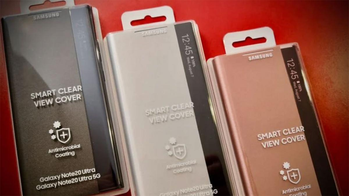 Samsung to launch antimicrobial coated cases for the Galaxy Note 20