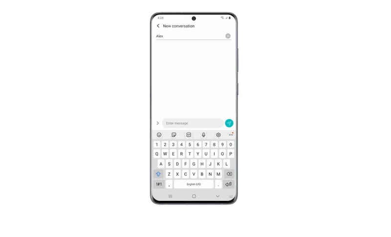 The new Samsung keyboard is more secure and allows to search stickers