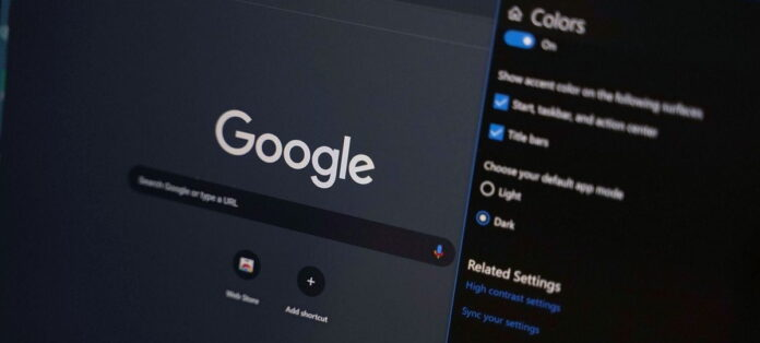 How to activate Google Chrome dark mode in Windows 10 and web pages?