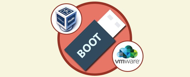 How to boot USB disk from VirtualBox or VMware?