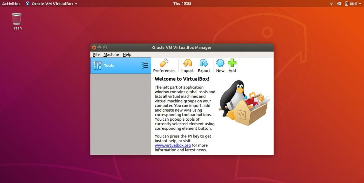 How to convert IMG to VDI for use in VirtualBox?