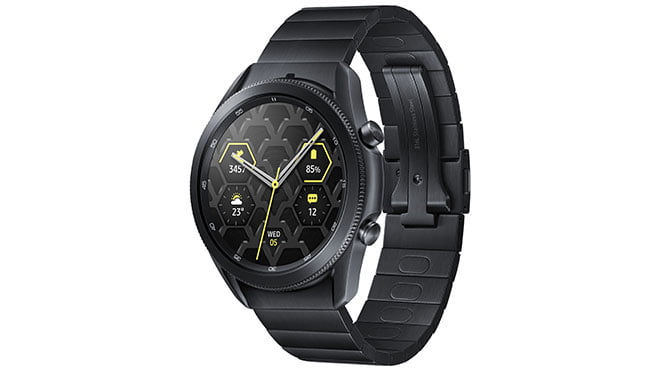 Samsung announced Galaxy Watch3 the rotating bezel is back, here are the photos, price, specifications and features...