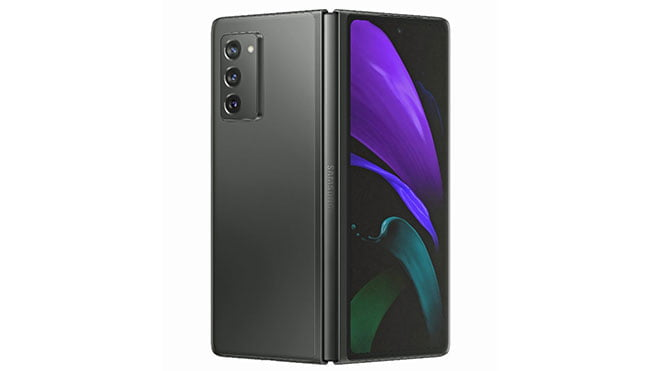 Samsung announced its new foldable phone Galaxy Z Fold 2 price specificatiomns features photos