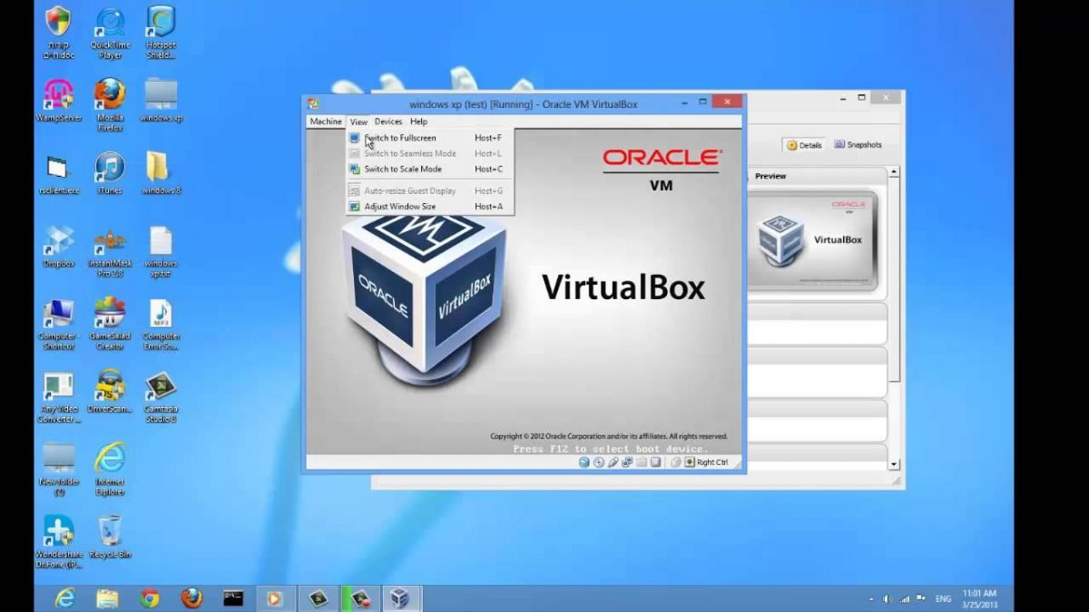 Start a virtual machine from an ISO in VirtualBox [How to]