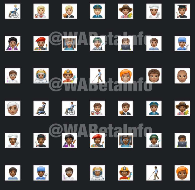 The 138 new emojis arrive to WhatsApp on Android 1