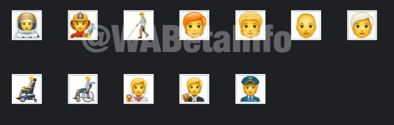 Here are the 138 new emojis that arrive to WhatsApp on Android