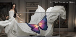 Xiaomi launched Mi TV LUX Transparent Edition