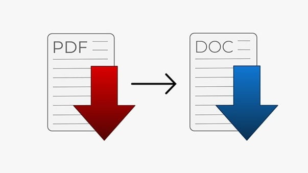 How to convert PDF files to Word document?
