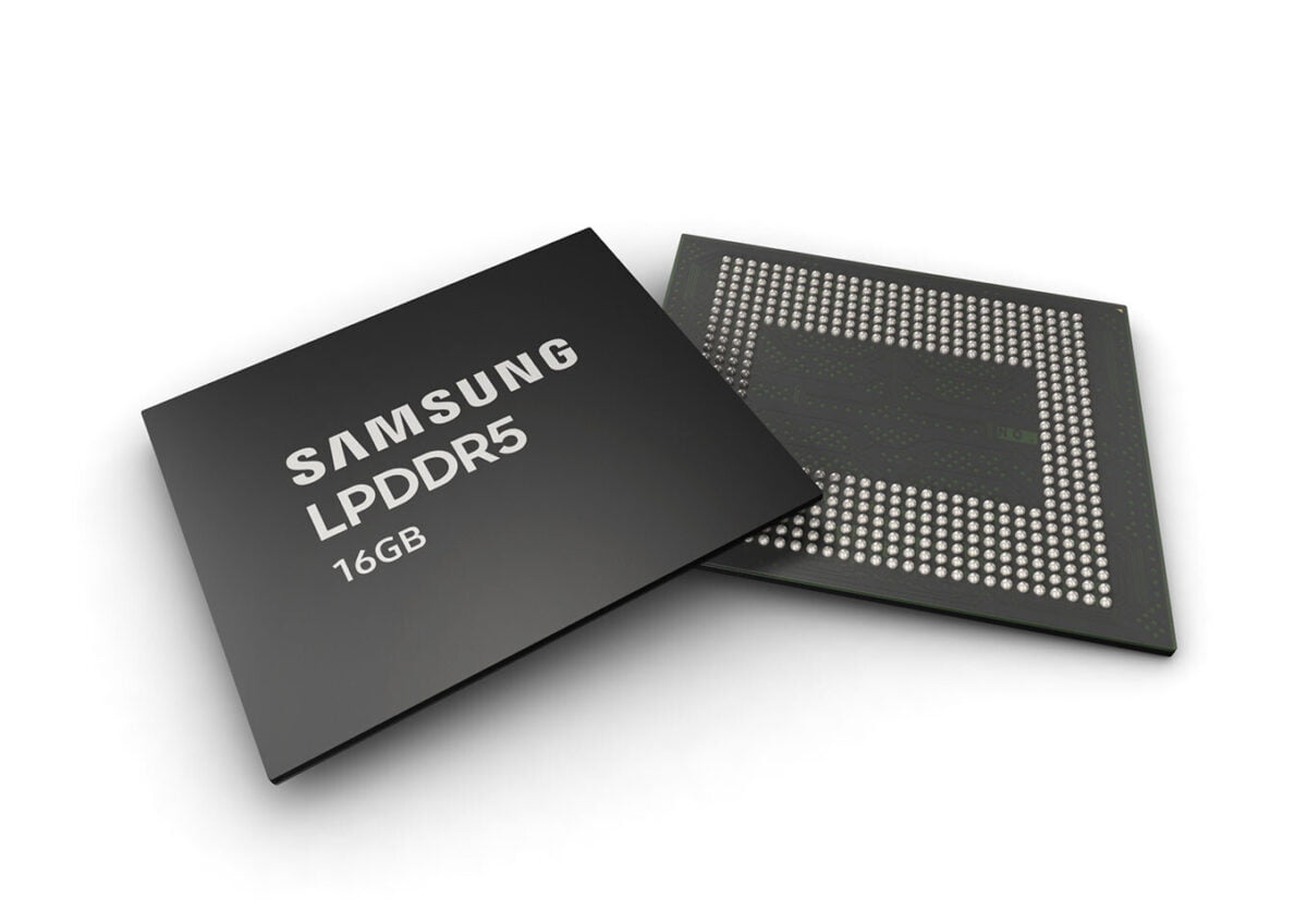Samsung begins mass production of a 16GB of RAM for mobile