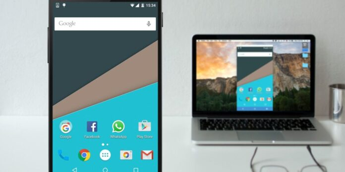 How to mirror an Android smartphone screen to PC?