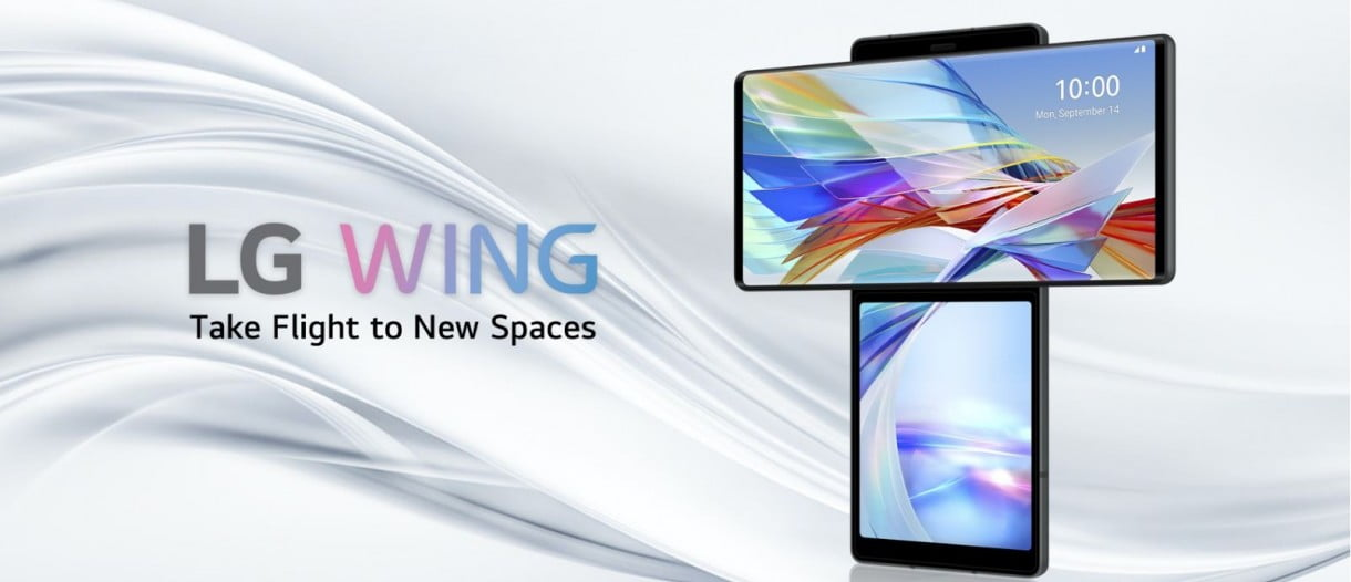 LG Wing is now official: read full specifications