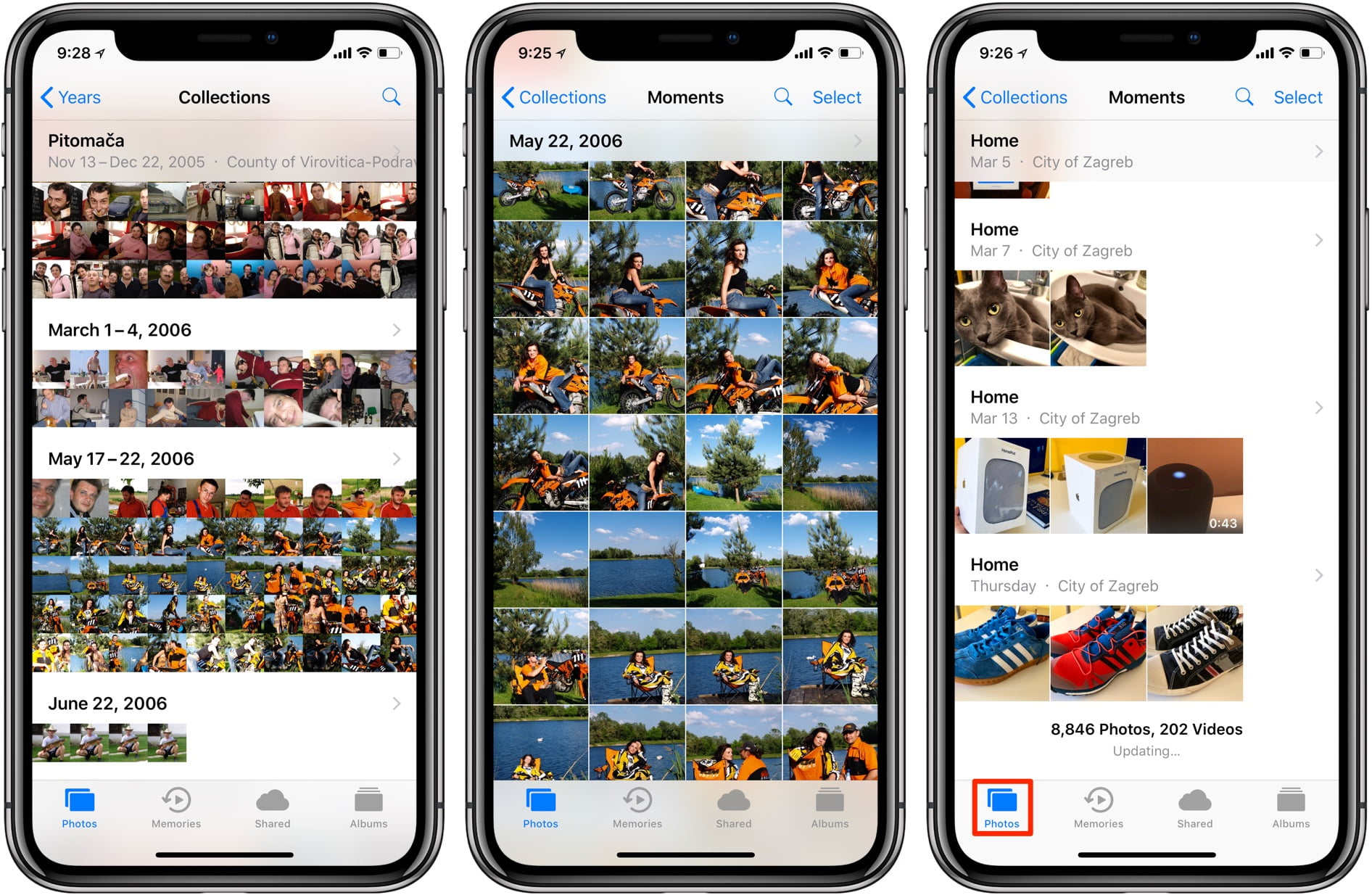 How to hide photos from camera roll on iPhone? [iOS 14]