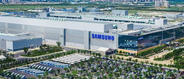 Samsung sold its LCD facility to TCL