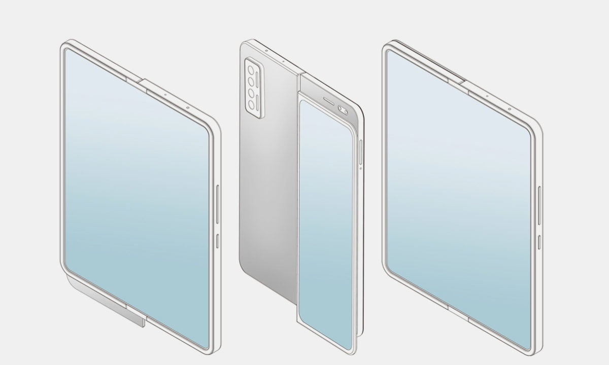 Xiaomi patents a folding smartphone with a slider display