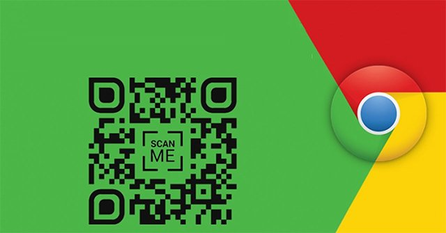 How to share a website using a QR code with Chrome?