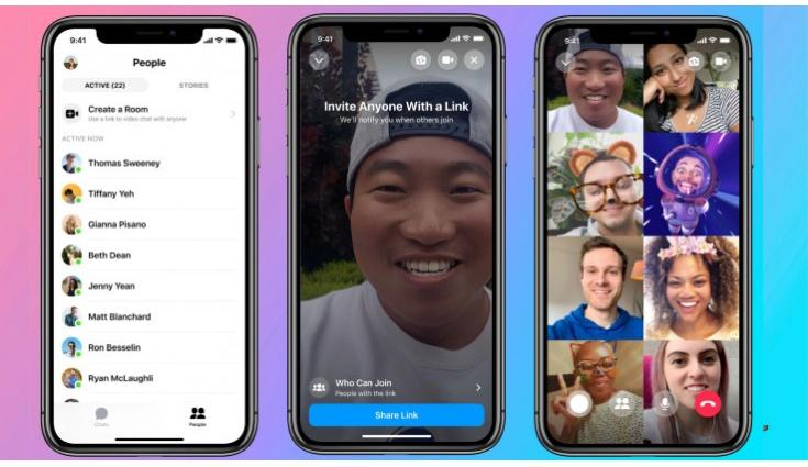 How to make group video calls with Instagram?