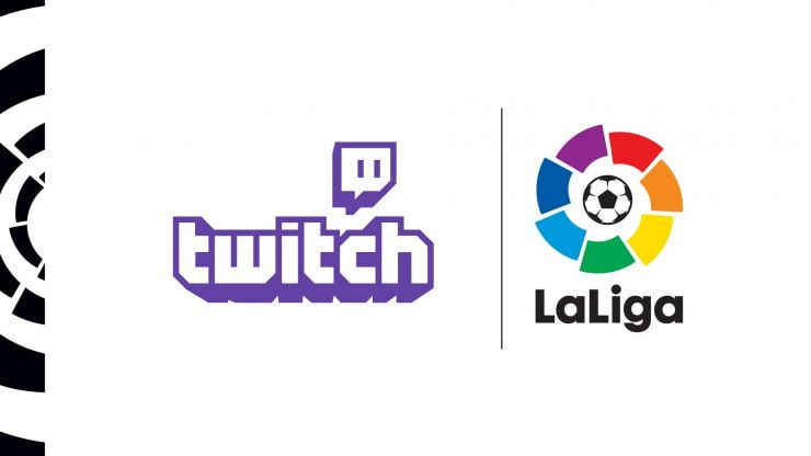 La Liga will be the first European sports league to broadcast content through Twitch