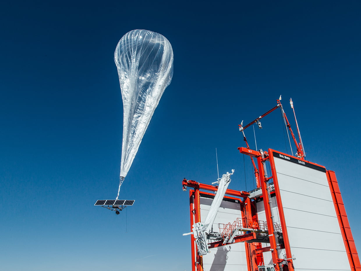 Google s Loon sets record for longest stratospheric flight