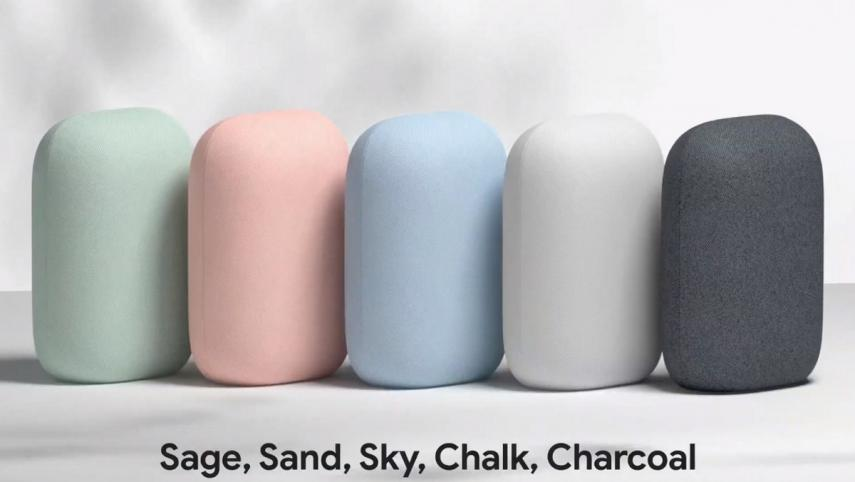 Nest Audio will be available in five colours