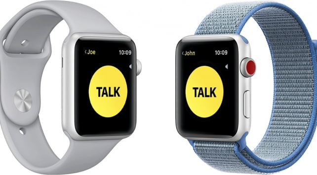 How to send voice messages using Walkie-Talkie on Apple Watch?