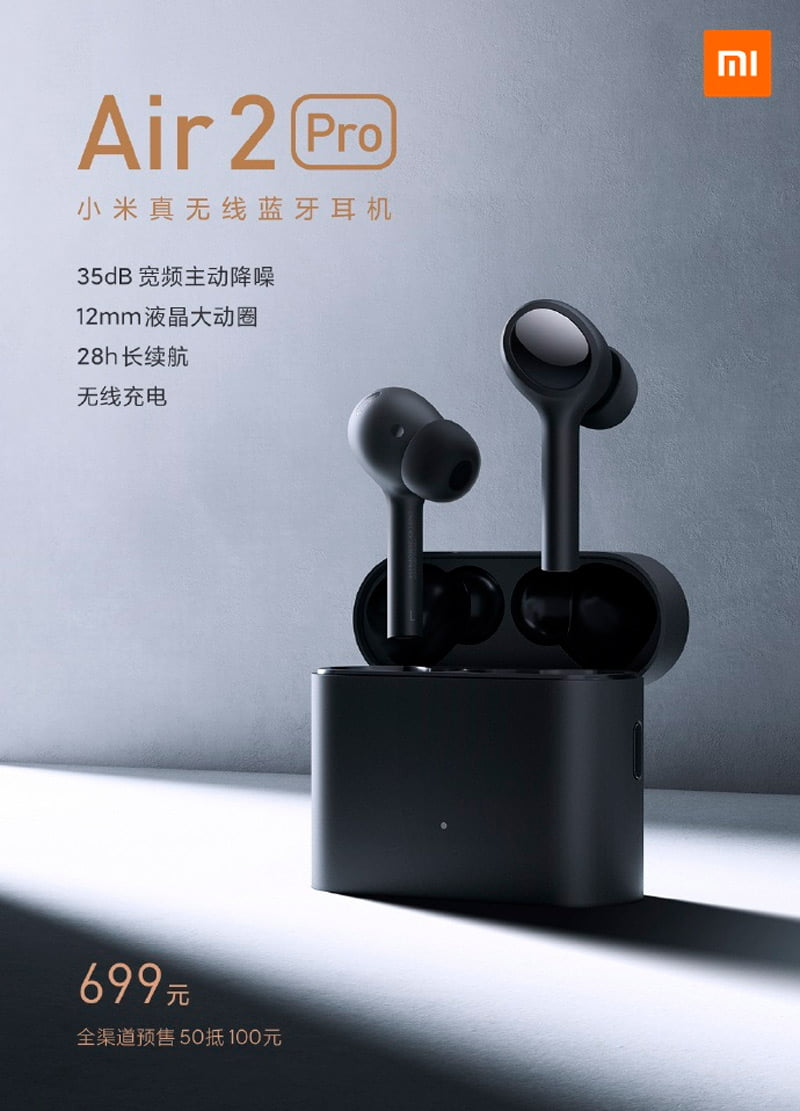 Xiaomi Mi Air 2 Pro is introduced: specs and price