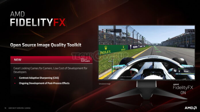 AMD shows us what FideltyFX is capable of with a demo