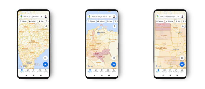 Google Maps is improving its COVID-19 overlay