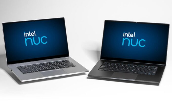 Intel NUC M15: the first laptop in the NUC series