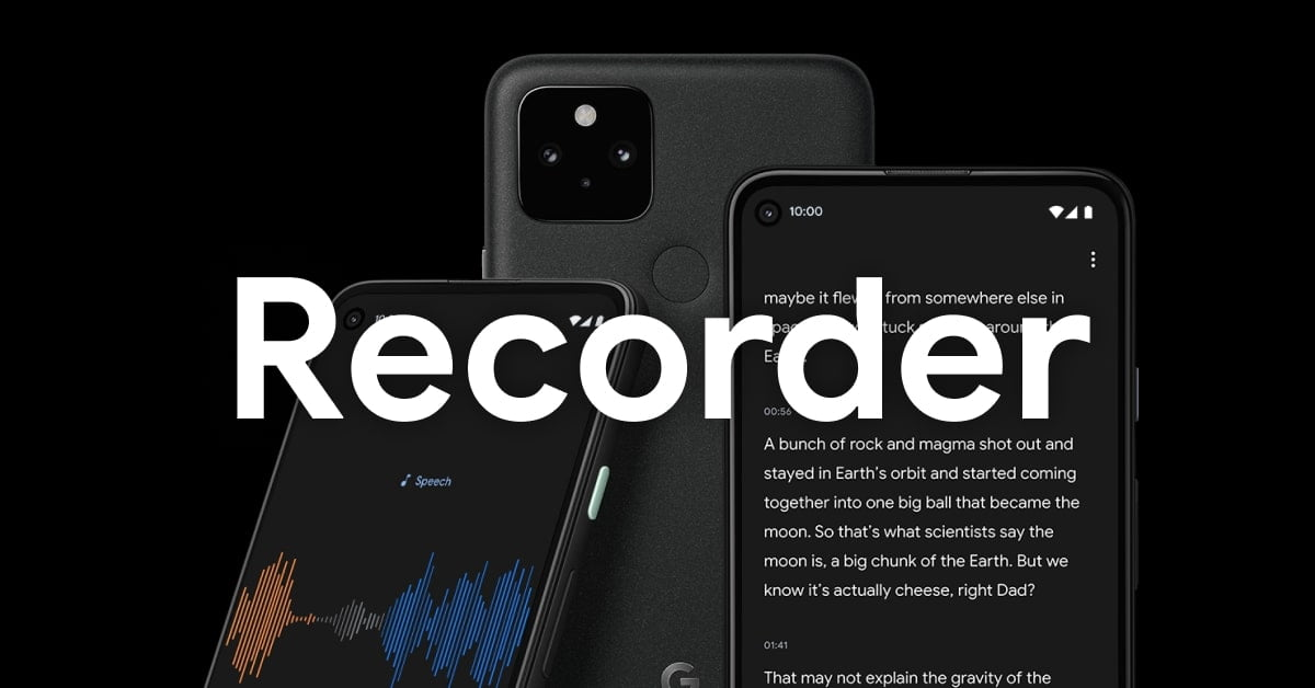 Google Recorder will make it easier to navigate the transcripts