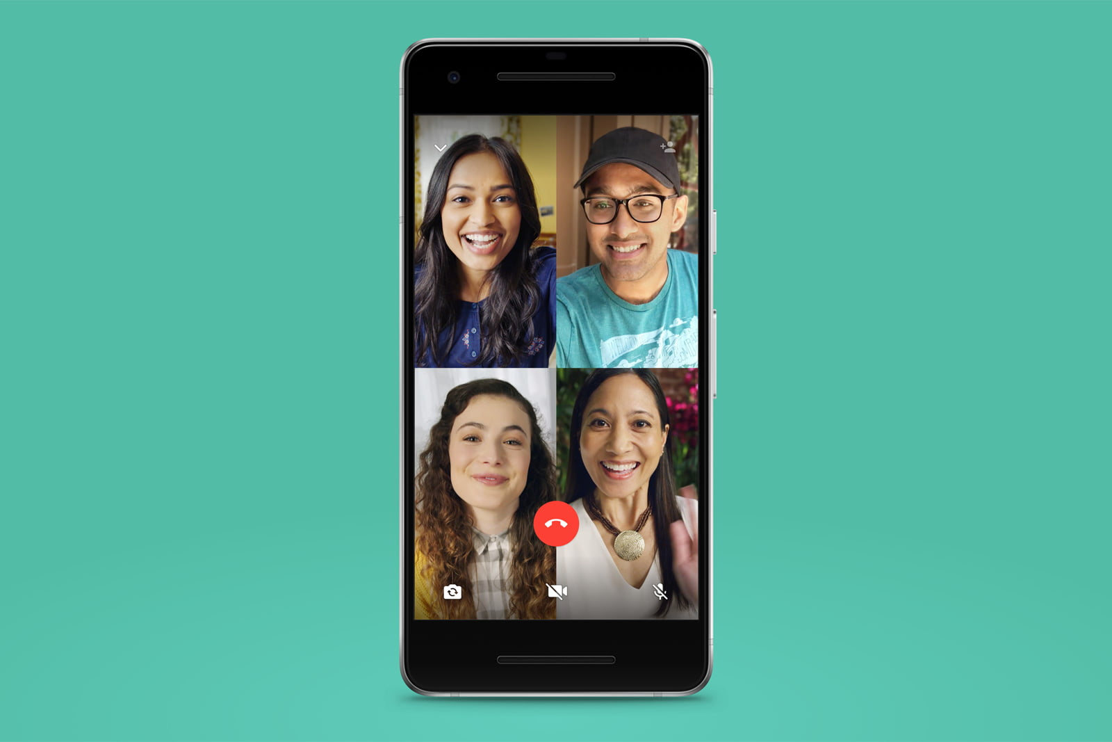 How to use a TV to view WhatsApp video calls?