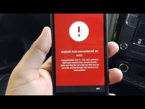 "How to fix ""Communication error 16"" on Android Auto?"