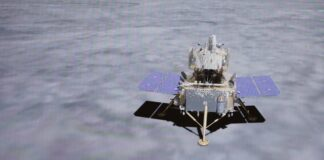 China successfully lands the Chang'e 5 module on the Moon