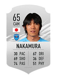 FIFA 21 Top 10 Best Free Kickers Players Averages and Ratings nakamura